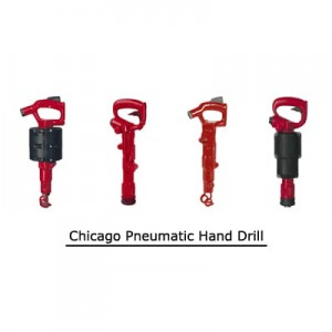 Chicago Pneumatic Hand Drill