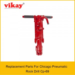Cp 69 Chicago Pneumatic Rock Drill Parts