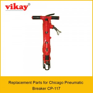 Cp 117 Chicago Pneumatic Paving Breaker Parts