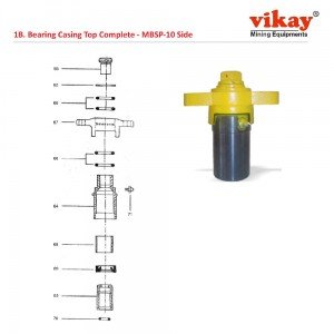Bearing Casing Top Complete Simba Junior Parts