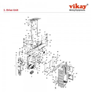 Drive Unit- Vikay Replacement Parts