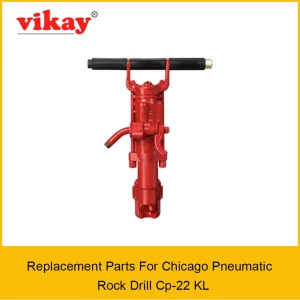 Cp 22 KL Chicago Pneumatic Rock Drill Parts