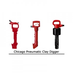 Chicago Pneumatic Clay Digger