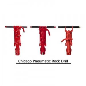 Chicago Pneumatic Rock Drill